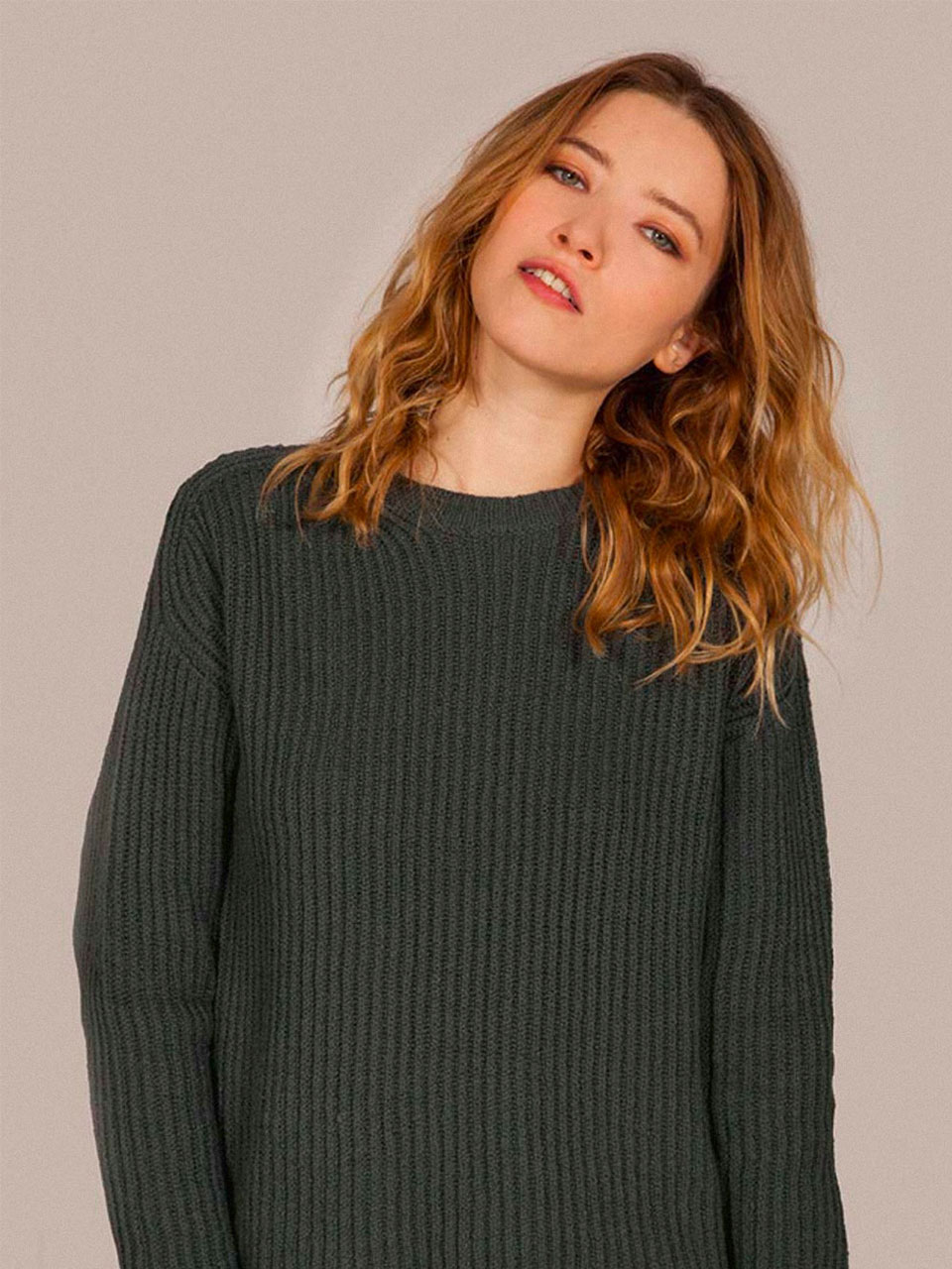 PULL DARRY_DARK GREENBS0SSW101DG
