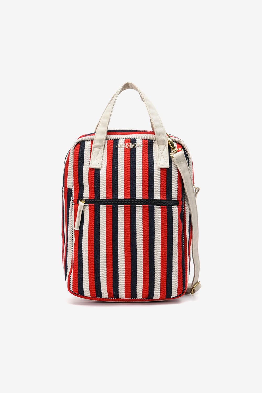 [Stripe Transat] Shopper Bag_RedBS9STB104