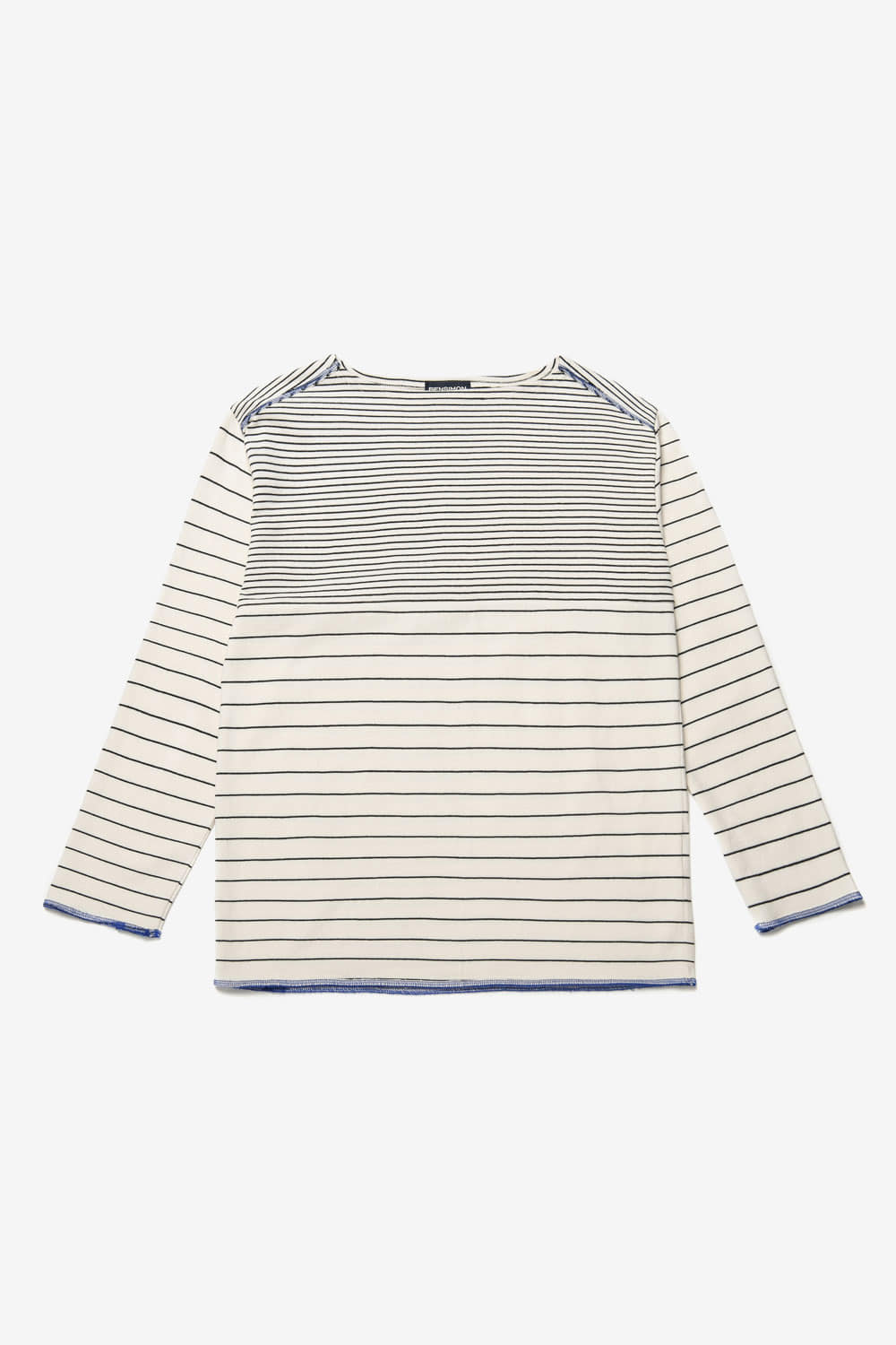 [벤시몽 X 비아플레인] Brush Stripe Long Sleeve_Ivory BS0STL211IV00F