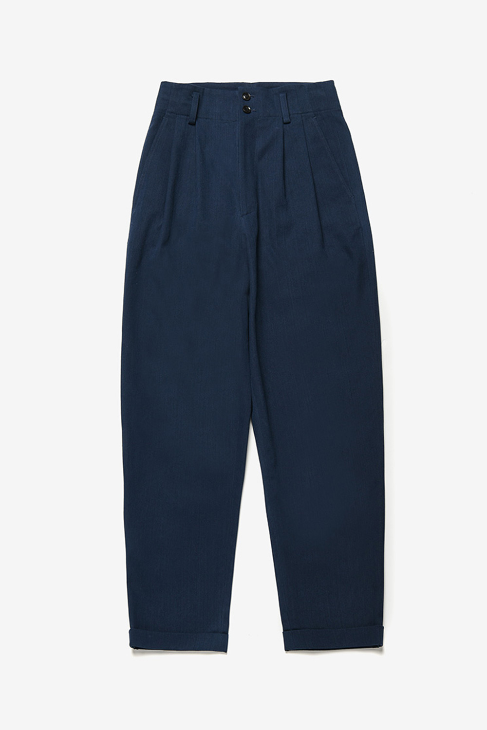 [벤시몽 X 비아플레인] Serge Cotton Pants_Navy BS0SPT405NV
