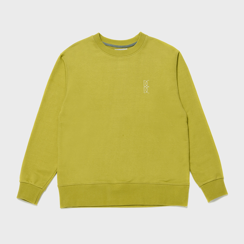 BENSIMON OVER SWEAT SHIRT - OLIVE