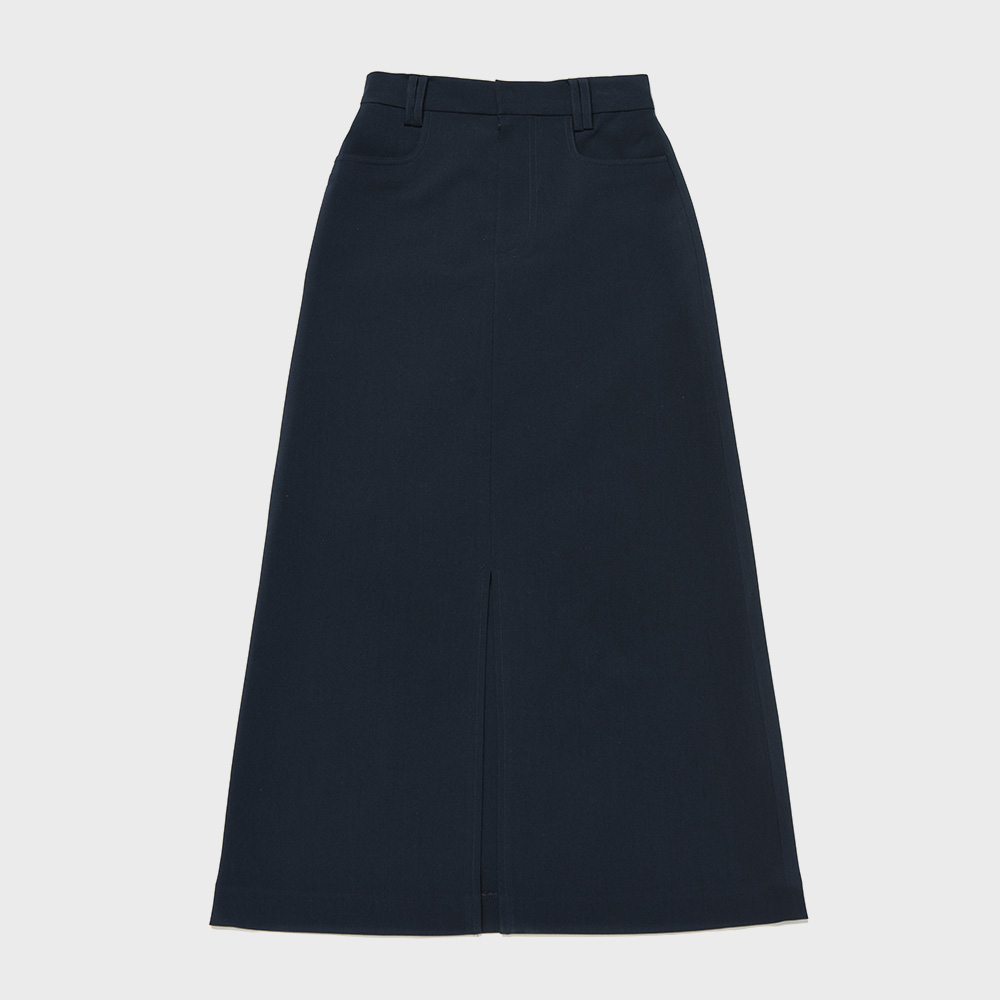 BENSIMON LONG SKIRT - NAVY