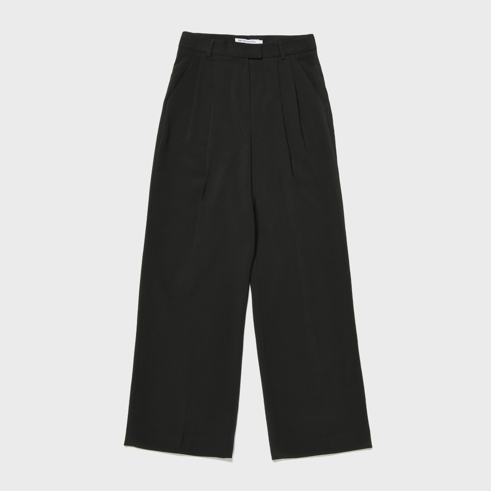 BENSIMON SET UP SLACKS - CARBON