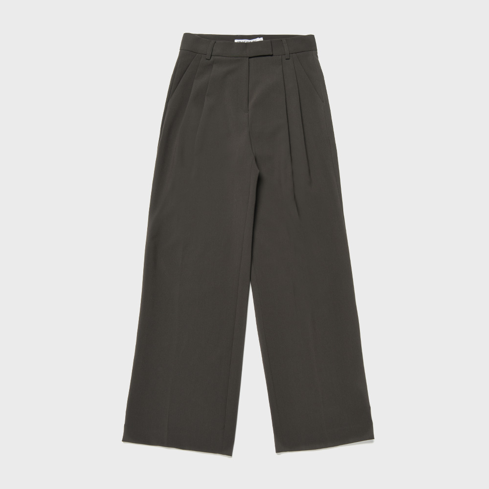 BENSIMON SET UP SLACKS - DARK GREY